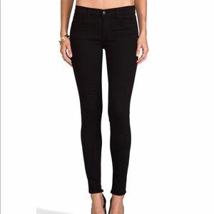 J Brand Midrise Super Skinny in Hewson Size 29